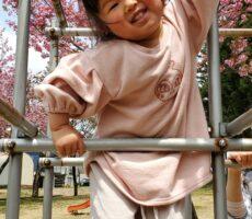 作品No:7 大人しか出来ないの2歳の娘が最近みるみる成長し、ジャングルジムもこっちがヒヤヒヤしながらもズンズン登っていきました。「大人しか出来ないの」と言いながら。笑