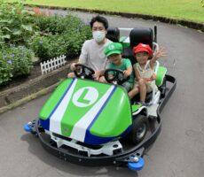 作品No:19 レッツゴーカート!!<br><br>楽しそうな子ども達^ ^<br /> 水翔パパは頑張って運転してます!<br><br>