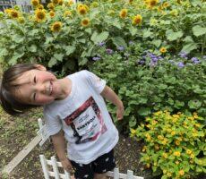 作品No:103 お花大好き<br><br>お花が大好きな、かえでくん。<br /> たくさん咲いているお花を見て、<br /> ママ写真撮って!と言っていました。<br><br>