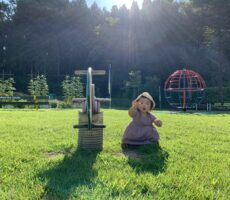 作品No:123 朝活<br><br>朝8時の桂公園。ゴーカートやラジコンカーはありませんが、朝日に照らされながらあそぶ時間はとっても気持ちよかったです◎<br><br>