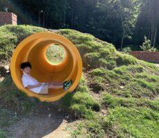 作品No:124 オレの避暑地<br><br>今年の夏も桂公園へ!暑い時はトンネルへGO◎<br><br>