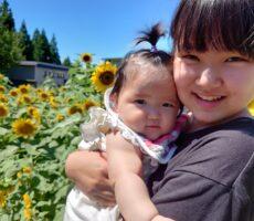 作品No:150 夏休み☆<br><br>夏休みは大好きなねぇねとずーっと一緒💕かつら公園へのお散歩が一緒に出来て、嬉しい妹ちゃんです❤️<br><br>