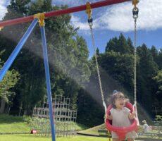 作品No:192 桂公園デビュー!<br><br>ママもだいすきだった桂公園デビュー!<br /> <br /> ママも思い出いっぱいの桂公園。<br /> 思いっきりブランコを漕いで、お空まで飛んでいきそうでした。<br><br>