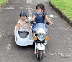 作品No:196 おねえちゃんのとなり<br><br>おねえちゃんが初めて運転するバイクに乗った弟!ドキドキしたけど上手だったよ〜!<br><br>