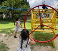 <strong>作品No:113 夏の一日</strong><br><br>久しぶりの桂公園で楽しそう😊