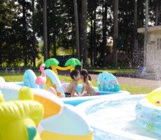 <strong>作品No:149 プールでないしょ話</strong><br><br>子どもたちがプールでないしょ話?してるように見えた一コマです。<br /> シャボン玉も飛んでいてとても素敵な夏の瞬間でした。